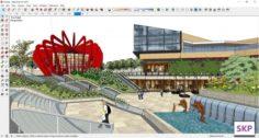 Sketchup Park J10 3D Model