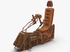 Game cockpit seat 3D Model