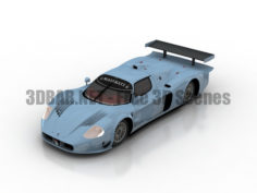 2008 Maserati MC12 Versione Corsa Forza Horizon Cars 3D Collection