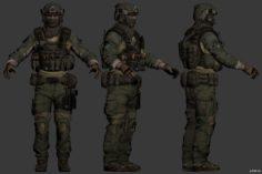 Bs 3D Model