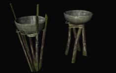 Cave lamps 3D Model