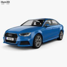 Audi A3 S-Line 2016 3D Model