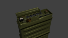 R-159 radiostation 3D Model