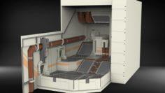 Sci-fi Architectural element 7 3D Model