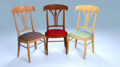 Chair1 for cafe 3D Model