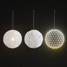 Handmade Lighting set 01 3D Model