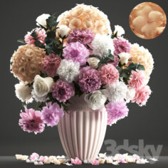 Bouquet of flowers 61.                                      3D Model