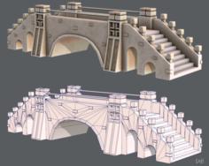 Bridge V01 3D Model