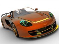 RACE – Porsche GT 3D Model