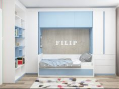 BLUE BABY ROOM 3D Model