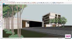 Sketchupl complex B10 3D Model