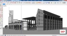 Sketchup Library M8 3D Model