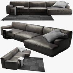 Poliform Paris Seoul sofa 2 3D Model