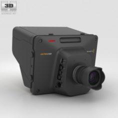 da2b0593fd  149.00 Blackmagic Studio Camera 4K 3D Model