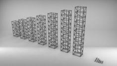Metal truss 1 3D Model