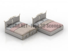 Bed Marsella Dream land 3D Collection