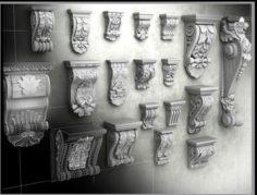 3d columns 3D Model