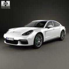 Porsche Panamera 4 E-Hybrid 2016 3D Model