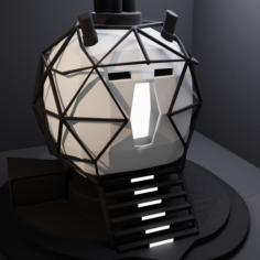 Sphere Room 3D Model