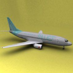 Boeing 737 Norwegian Air Shuttle 3D Model