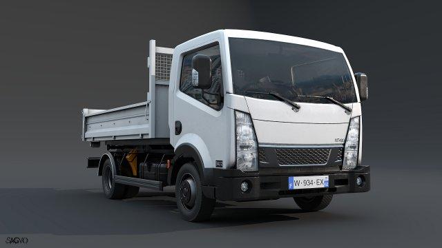 Light truck 3D Model