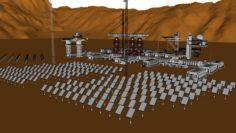Outpost Cerberossa-218 3D Model