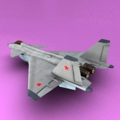 Mig 144 3D Model