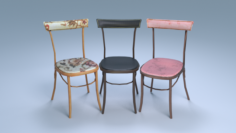 Chair5 for cafe 3D Model