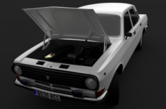 GAZ-2410 Volga 3D Model
