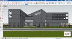 Sketchup Library M6 3D Model