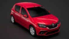 Renault Sandero 2018 3D Model