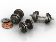 Dumbbells 3D Collection