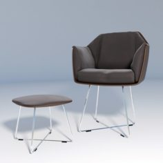 Chair Rolf Benz 641 3D Model