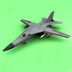F-111 3D Model
