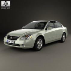 Nissan Altima S 2002 3D Model