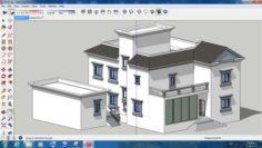 Villa sketchup – 9 3D Model