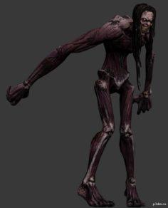 Zombie spector 3D Model