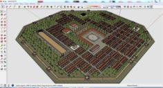 City 3d sketchup – 8 3D Model