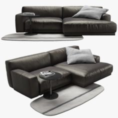 Poliform Paris Seoul sofa 1 3D Model