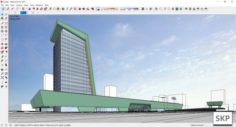 Sketchup Cultural center G3 3D Model