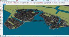 City 3d sketchup – 5 3D Model
