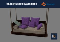 Hanging sofa – Class Code 3D Model