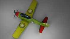North American Trojan 28 – Aircraft 3D Model