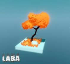 Stylized low poly nature pack 3D Model