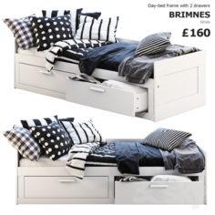 Ikea Brimnes 3                                      3D Model