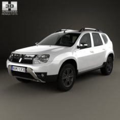 Renault Duster CIS 2015 3D Model