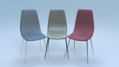 Chair2 for cafe 3D Model