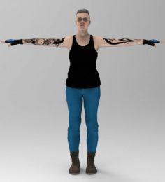Joanna 3D Model