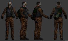 Leopard killjoy 3D Model