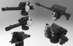 Turret 3 3D Model